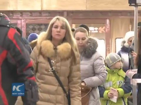 Russians flock to northeast China for New Year holiday