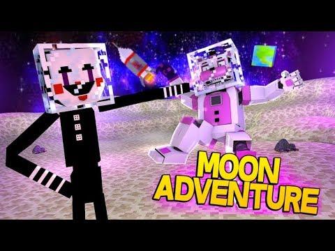 Funtime Freddy's Moon Adventure!- Minecraft FNAF Roleplay