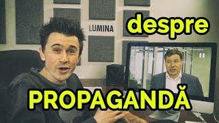 DESPRE PROPAGANDĂ   LIVE pe Facebook