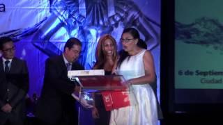 Ceremonia Nacional de Premio Yecatl 2013 ¨Manejo Responsable del Agua¨