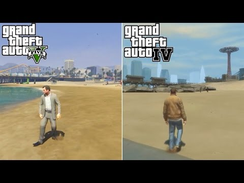 GTA 4 is better than GTA 5 - 10 THINGS GTA 4 DID BETTER THAN GTA 5