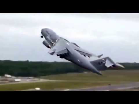 Boeing C-17 Globemaster Crashes at Elmendorf Air Force Base ✔