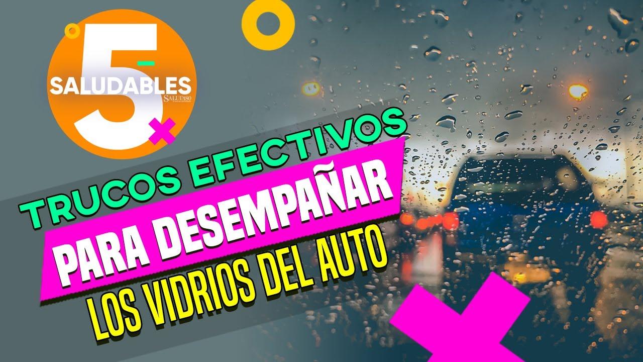 Trucos efectivos para desempañar los vidrios del auto | Salud180