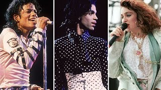 Michael Jackson Madonna and Prince All 3 Were Born in the Summer of 1958