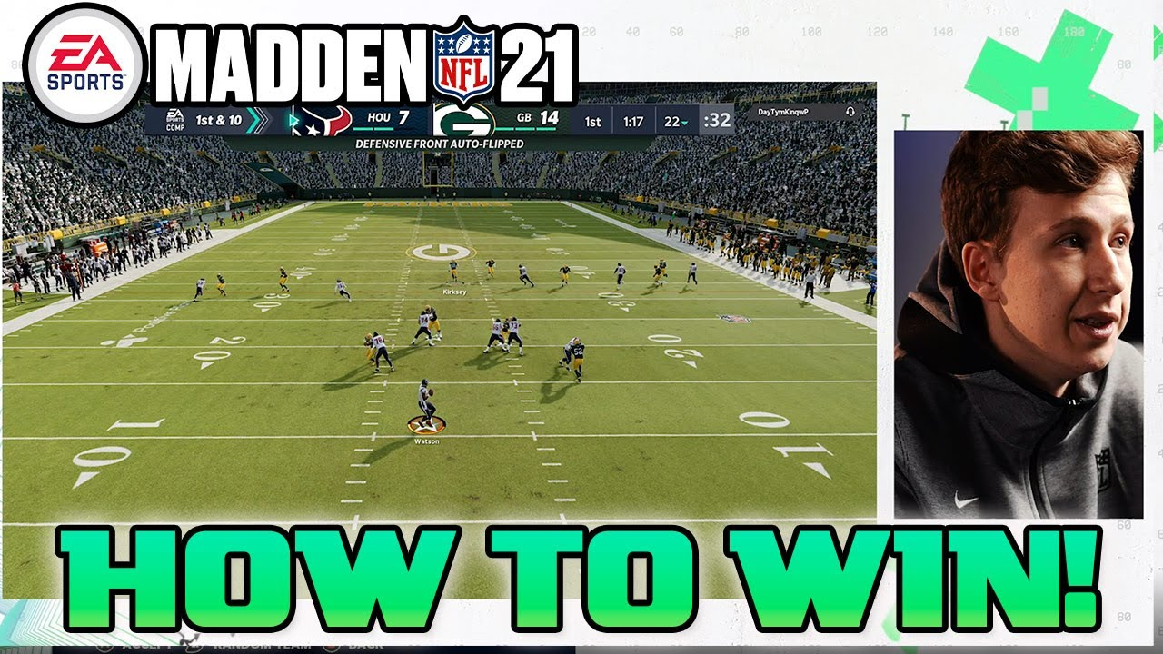 How to win online on Madden 21 | #MasterMadden