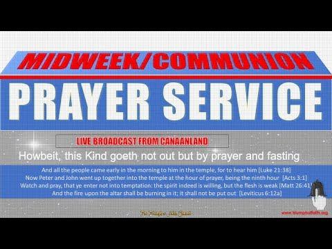 Midweek Communion Service, October 24, 2018