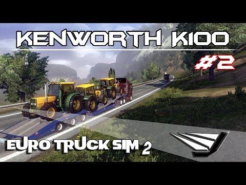 Euro Truck Simulator 2 - Kenworth K100 v4.0   Telemetry SDK 2/2