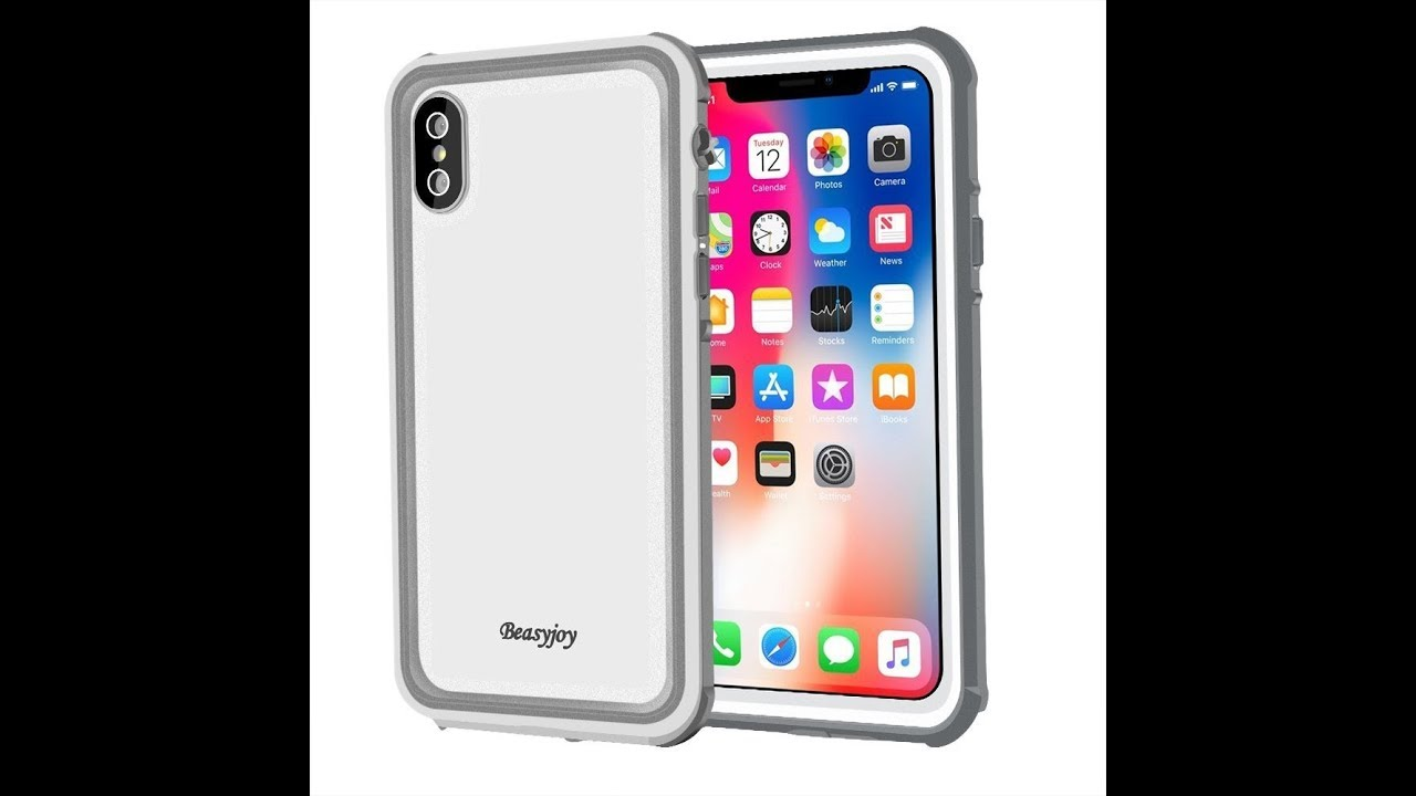 official photos a4b9e a8712 Iphone X Case Beasyjoy IP68 waterproof Rugged Cover