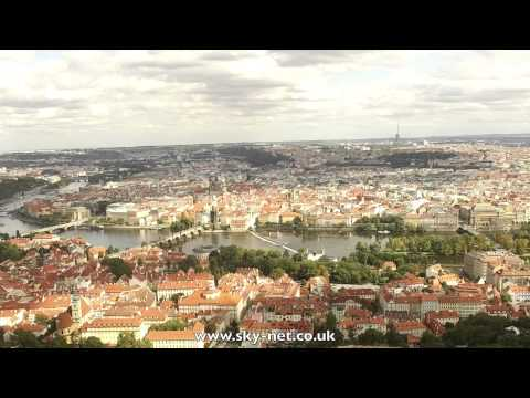 Exploring Prague, Czech Republic with a Drone.