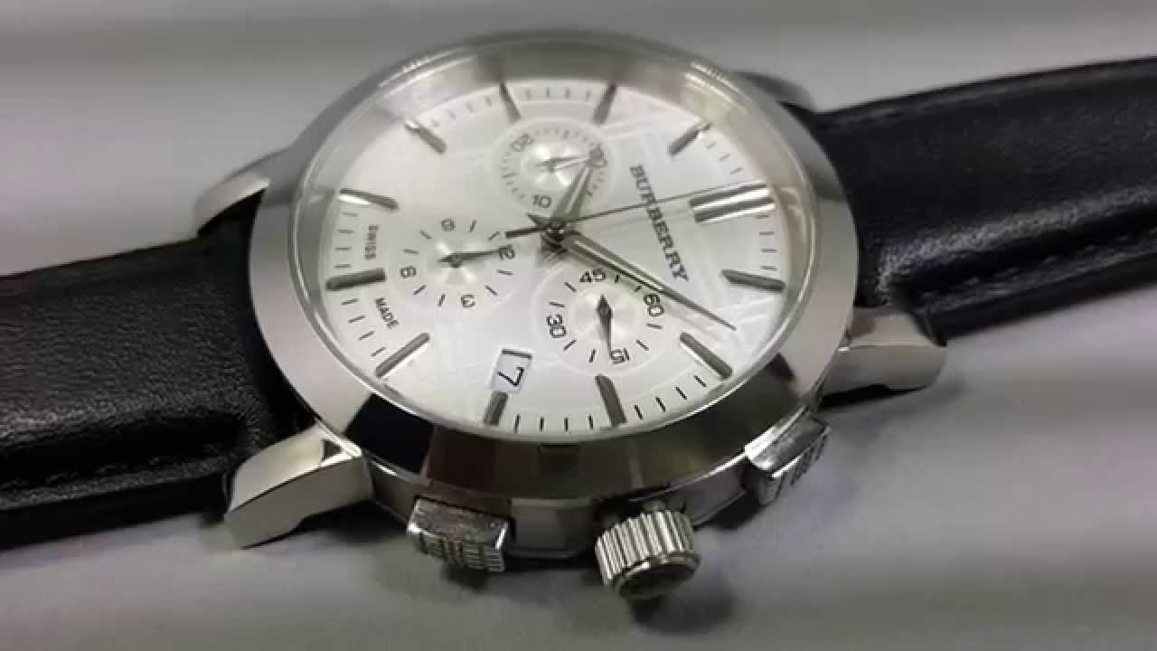 6ea485d0713 Relogio Burberry BU1361 -BU 1361 Relogios burberry - YouTube