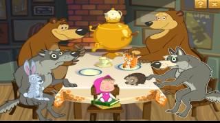 Маша и Медведь 2014 Кто икнул игра