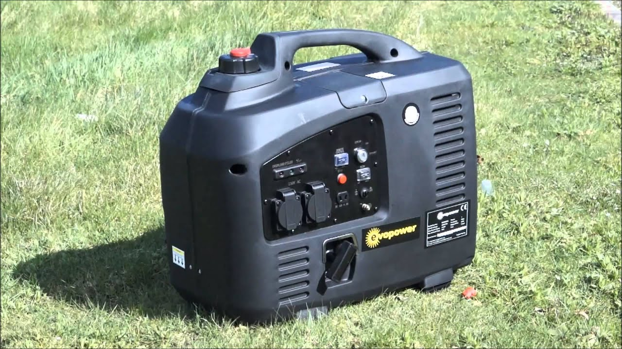 Evopower EVO2000Ei Remote Start Generator with Quiet ECONOMY