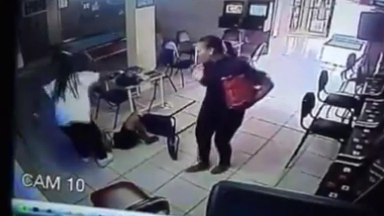 Girl Gets Brutally Beaten By Her Boyfriend For Cheating -4629