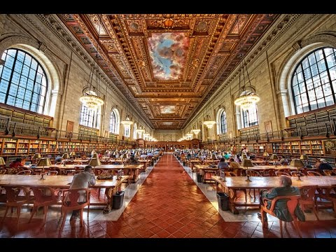 Inside The New York Public Library Main Branch - March 2016