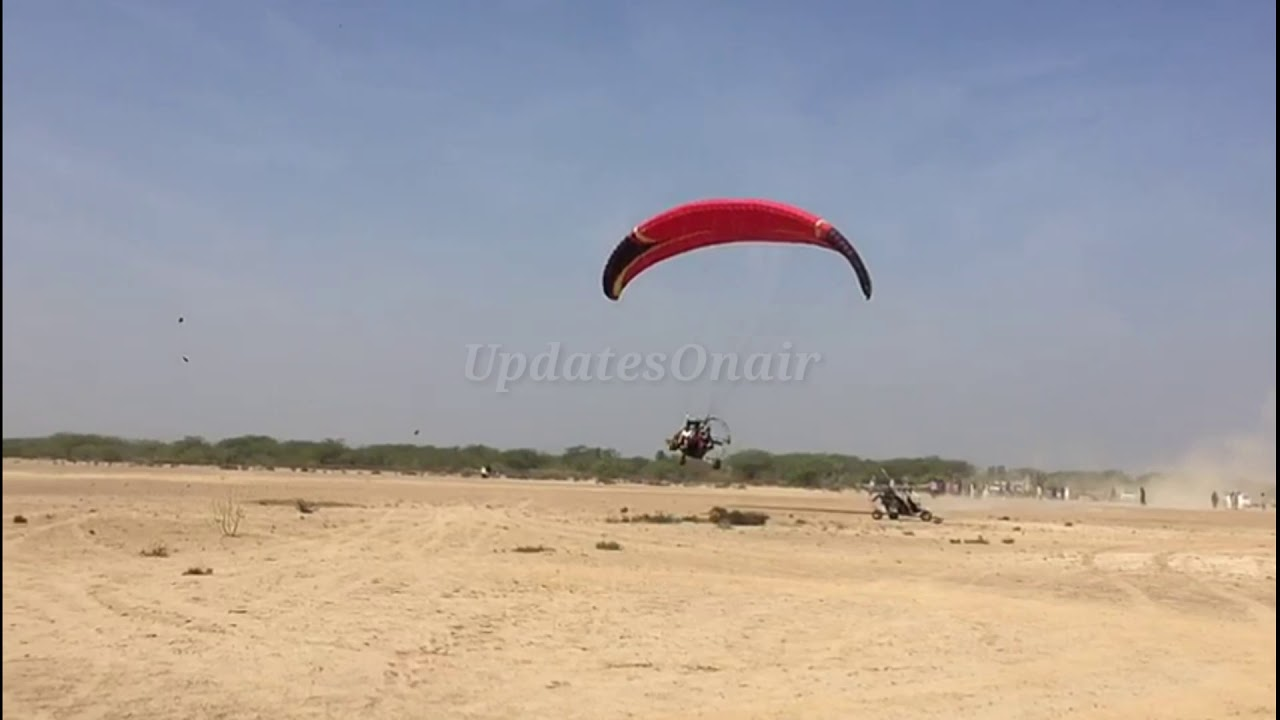 Download #updatesonair paragliding in Cholistan  Pakistan