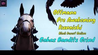 Black Desert Online - Gahaz Bandits - Pre Awakening Kunoichi