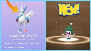 NEW SHINY REGIONAL POKEMON EVENT IN POKEMON GO! Looking for Shiny Zangoose!