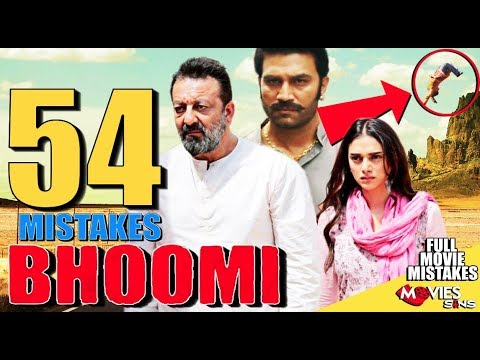 (54 Mistakes) In BHOOMI - Plenty Mistakes...