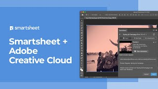 Smartsheet and Adobe Creative Cloud