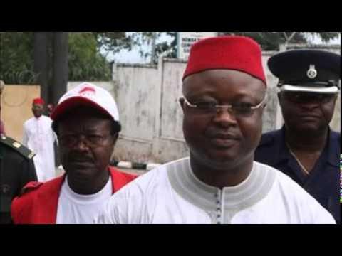Sierra Leone vice president dismissed after asylum bid