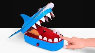Wie du ein Hai-Zahnarzt-Spielzeug selbst basteln kannst