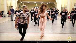 Bella and Mariano salsa workshop at HSW by Dance Vida