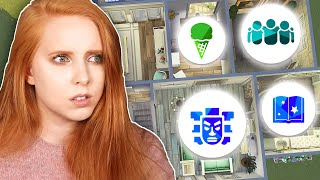 I build a house but every room is a different pack 🤔 | The Sims 4 Build Challenge