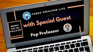 Funko Preacher Live with Pop Professor Take 2