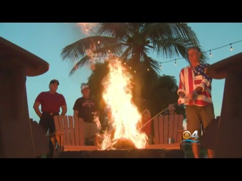 Miami Dolphins Fans Burn Team Gear Over Players Kneeling During Anthem
