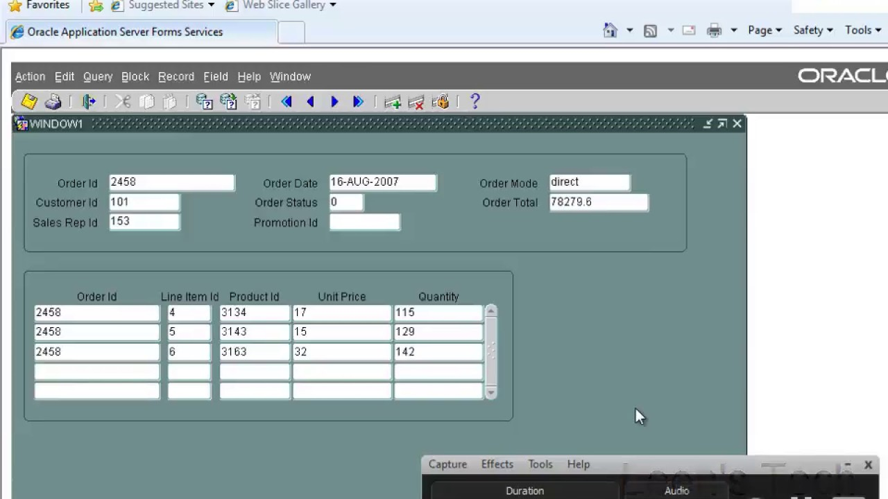 Oracle Forms 10g Tutorial in Bangla: WHEN NEW BLOCK INSTANCE Trigger