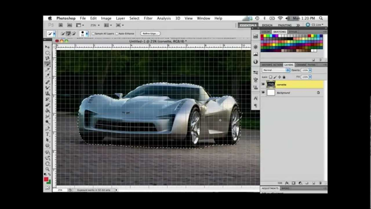 How rasterize in photoshop to