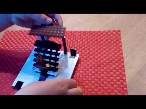 How to build the Lego Titanic Grand staircase