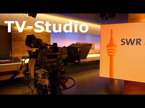 Fernsehstudio Stuttgart SWR - TV Studio / Landesschau Baden-Württemberg