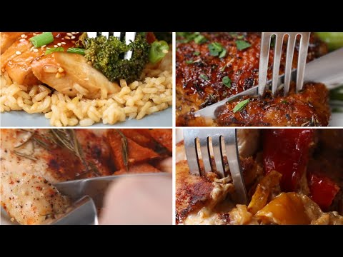 6 One-Pan Chicken Dinners