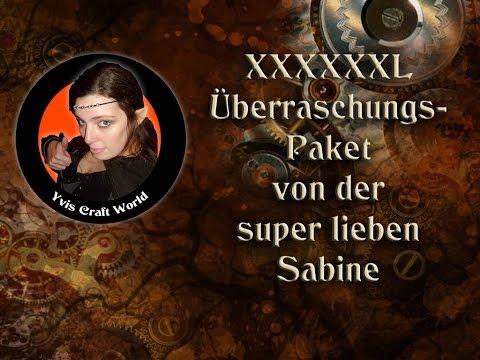 Megatolles XXXXXL Überraschungspaket von der super lieben Sabine - Teil 1