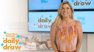 Daily Draw $500 Winner with Trish Suhr | July 17th, 2018 | Game Show Network