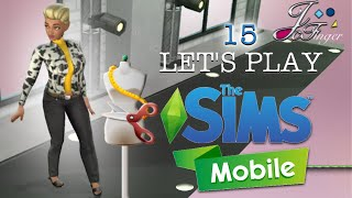 The Sims Mobile | LET'S PLAY | PART 15 | 🎥 ASOS FASHION SHOW 👒👗
