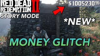 Red Dead Redemption 2- UNLIMITED MONEY GLITCH!!! (Story Mode)