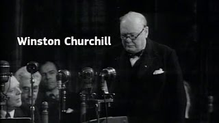 Founding fathers of the European Union: Winston Churchill