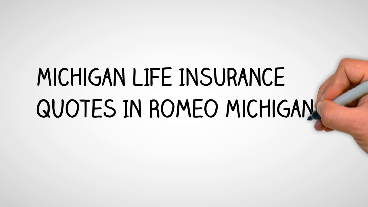 Joint Life Insurance Quotes Life Insurance Quotes In Romeo Michigan  5866049669  Youtube