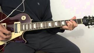 supergrass in it for the money guitar cover
