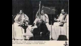 Salamat & Nazakat Ali Khan (2)  Raga Kalavati