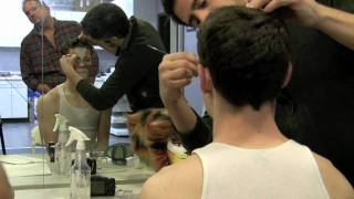 Musical Theatre West's CATS Makeup Demonstration