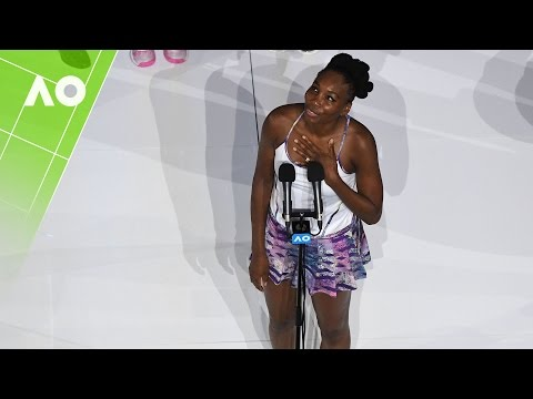 Venus Williams gracious in defeat | Australian Open 2017