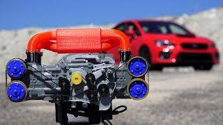 3D Printed Subaru WRX Engine - How Boxer Engines Work