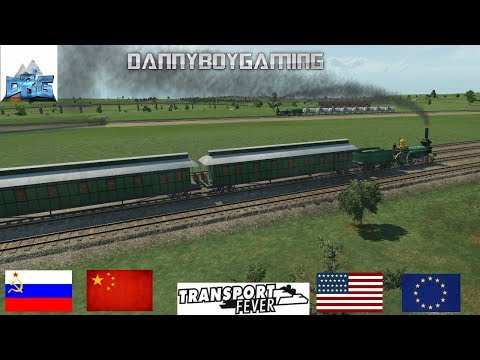 Transport Fever The Mods EP 14 The Moscow To Kiev Express