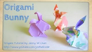 How To Fold: Origami Bunny / Rabbit With Post-it - Paper Easter Crafts - Kids & Classrooms