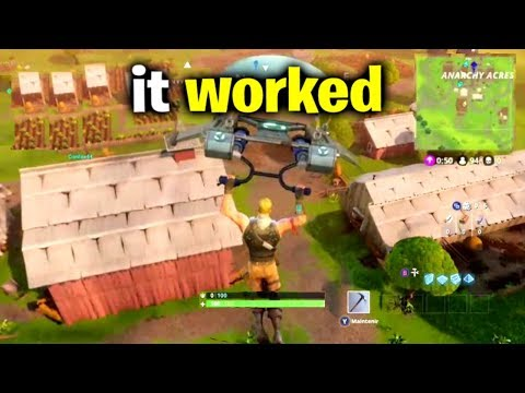 I Glitched Back To Season 1 - Fortnite