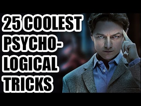 25 Coolest Psychological Tricks