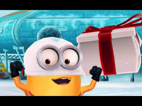Christmas Gifts! Despicable Me Minion Rush Special Mission - YouTube